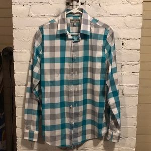 Express Fitted Button Down Shirt